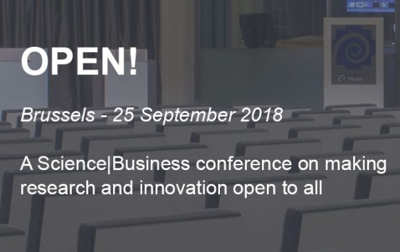 OPEN! – High-Level Conference | European consortium launches path-breaking Open Innovation project
