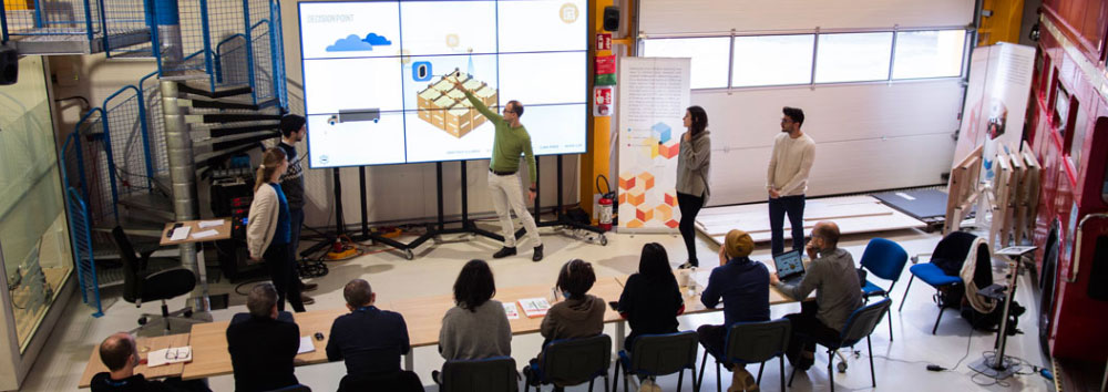 ESADE, IED and UPC students at CERN come up with solutions for sustainable development