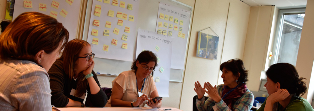 CERN's Women In Technology group launches a mentoring programme