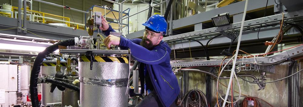 Probing dark matter using antimatter