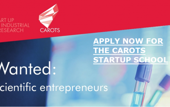 CAROTS startup school for scientific business ideas